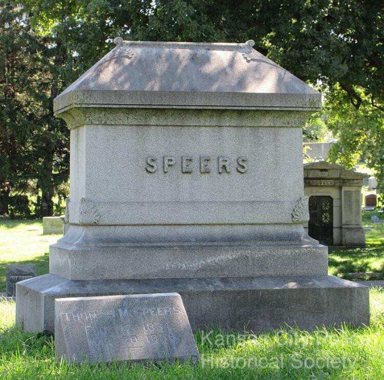 Speers Grave site - Elmwood Cemetary-